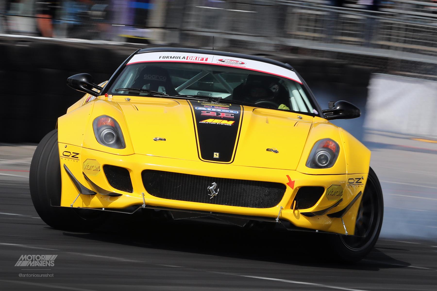 Federico Sceriffo, Ferrari 599, Formula Drift,