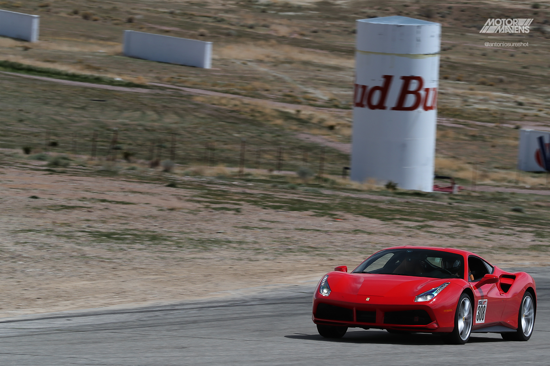 Ferrari 488 GTB,Ferrari 488, Ferrari, Willow Springs, Big Willow