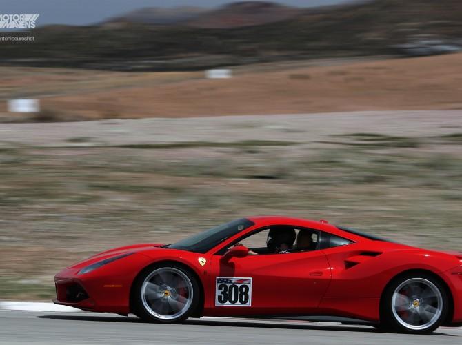 Ferrari 488 GTB,Ferrari 488, Ferrari, Willow Springs, Big Willow