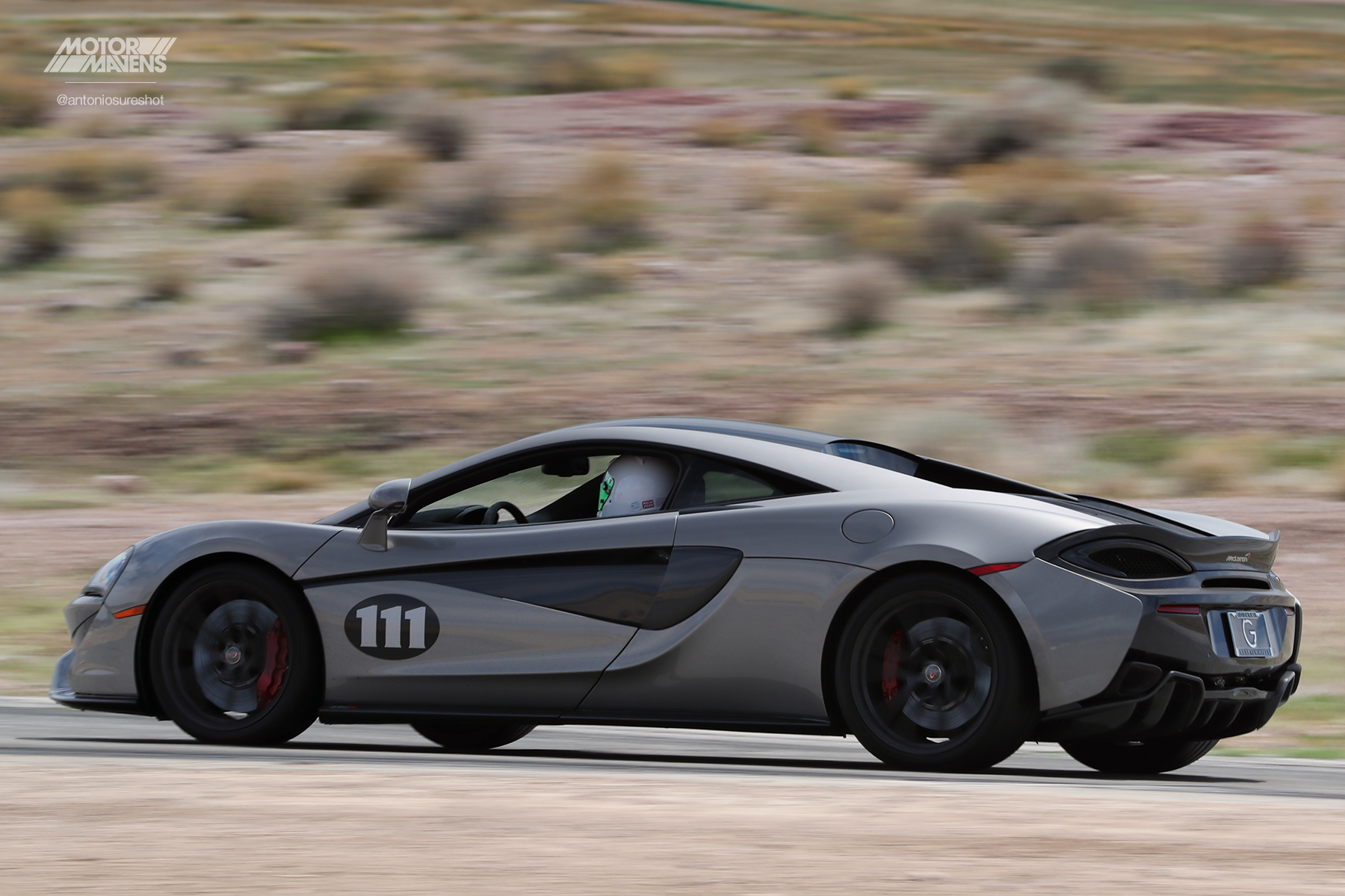Mclaren 570S, Willow Springs International Raceway