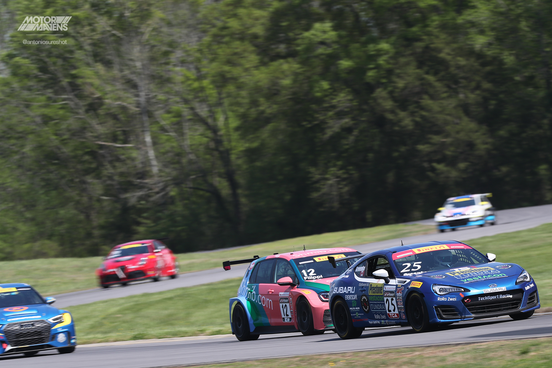 Pirelli World Challenge Virginia International Raceway VIR PWC TCR
