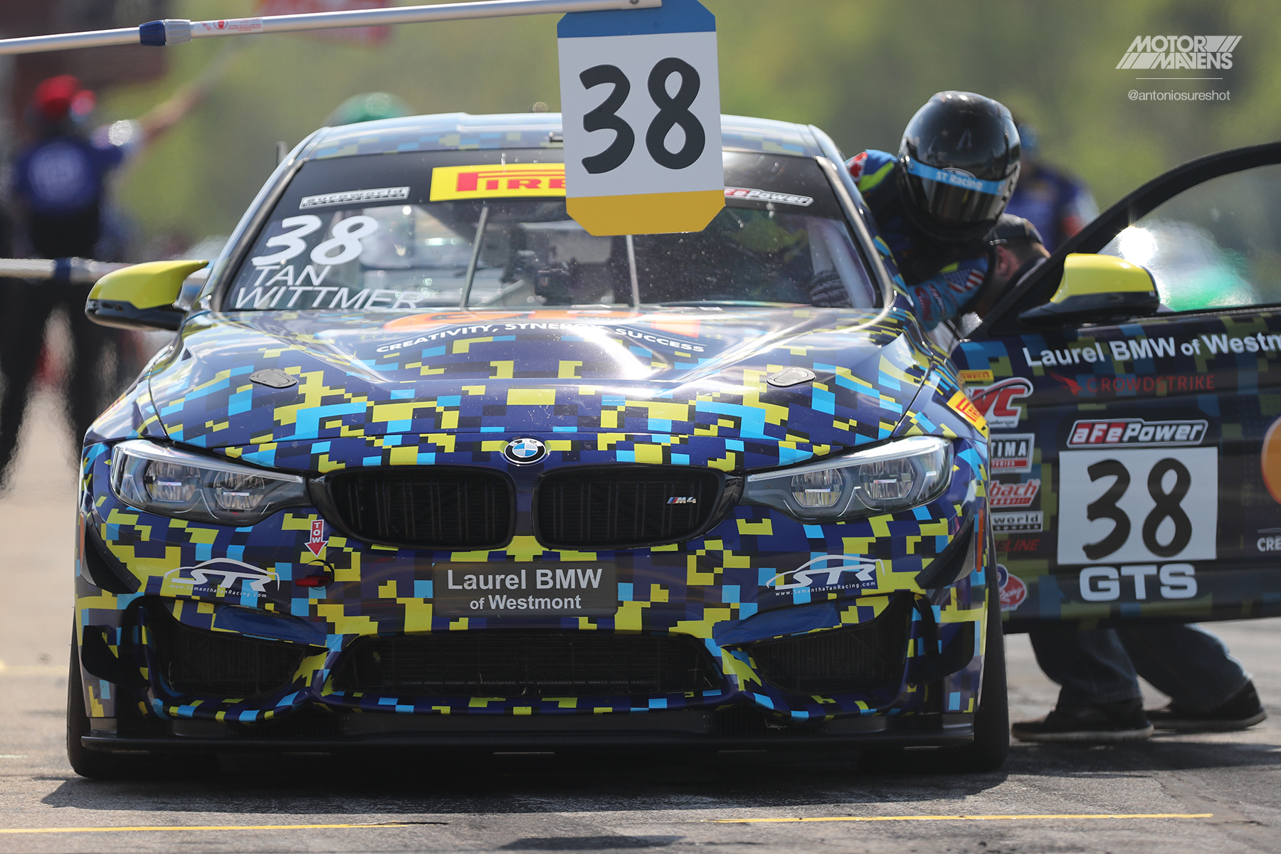 BMW M4 GT4, Pirelli World Challenge, Virginia International Raceway, VIR, PWC, Samantha Tan