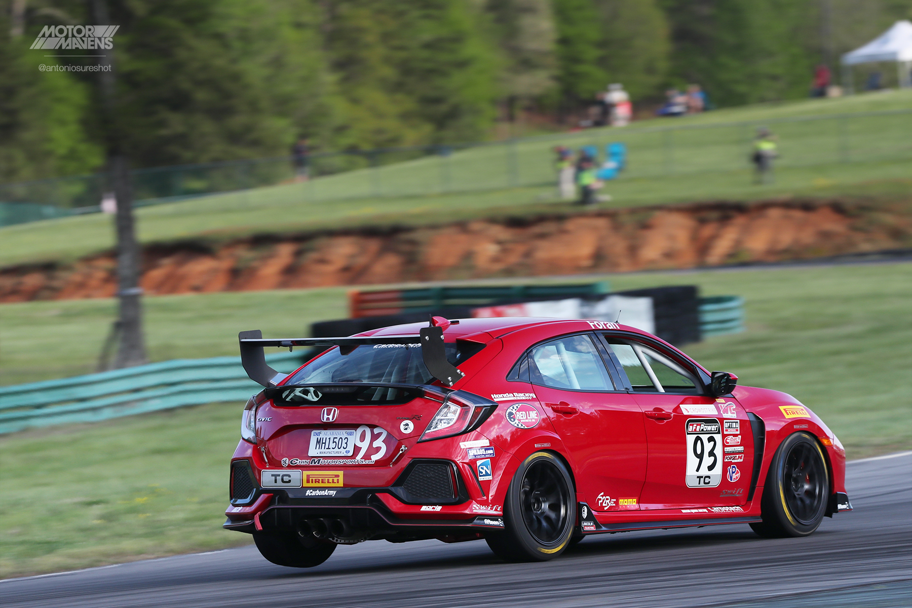 Civic Type R, PWCVIR, Josh Foran, HMA Motorsports, Pirelli World Challenge Virginia International Raceway, VIR, PWC, TCR