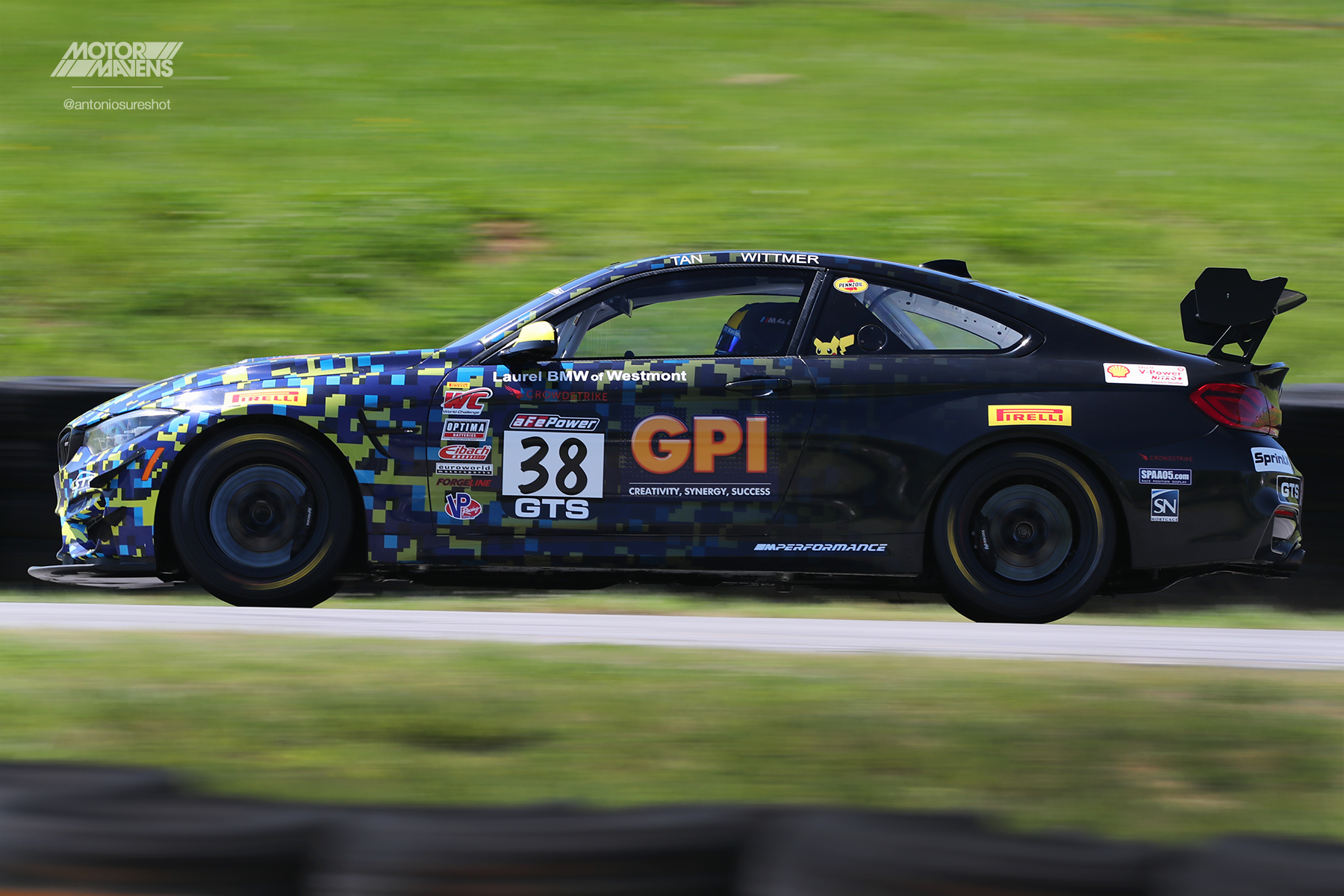 BMW M4 GT4, Pirelli World Challenge, Virginia International Raceway, VIR, PWC