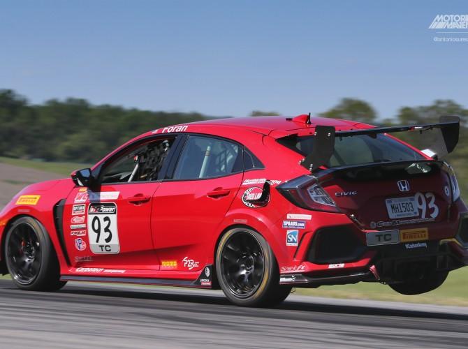 Civic Type R, PWCVIR, Josh Foran, HMA Motorsports, Pirelli World Challenge Virginia International Raceway, VIR, PWC, TCR