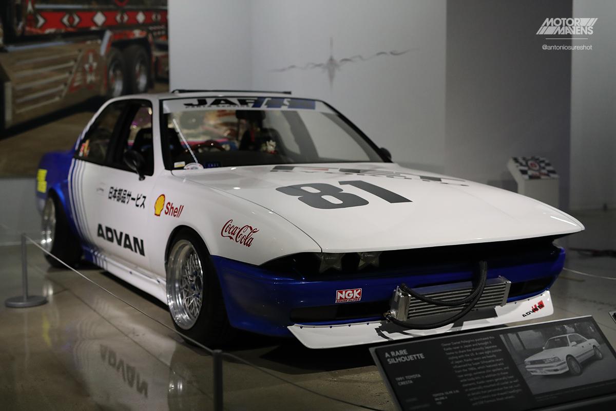 Mark II, Cressida, GX81, Toyota Cresta, Sharknose, Bosozoku, Kaido Racer, Petersen Automotive Museum