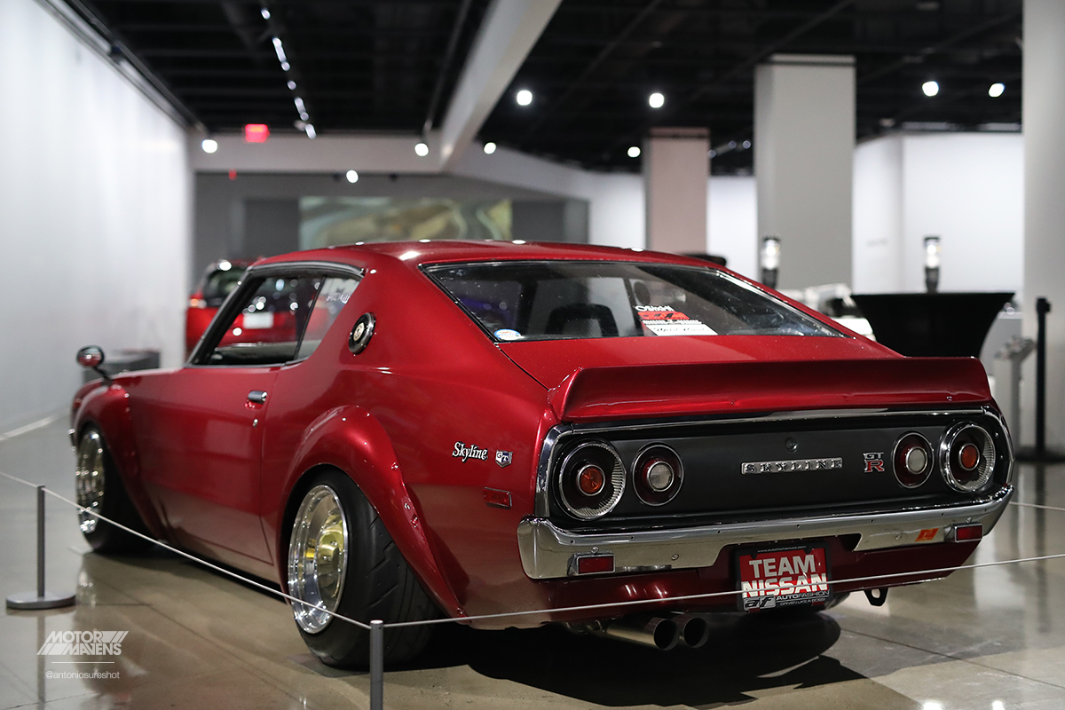 Petersen Automotive Museum, KGC110, Kenmeri, Skyline GTR, Bosopat, Team Wildcards
