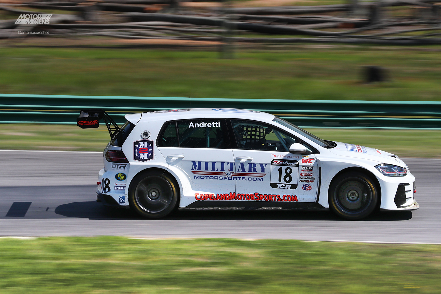 Pirelli World Challenge Virginia International Raceway, VIR, PWC, TCR, Jarett Andretti, Volkswagen, Golf, GTI, Volkswagen Golf GTI, TCR