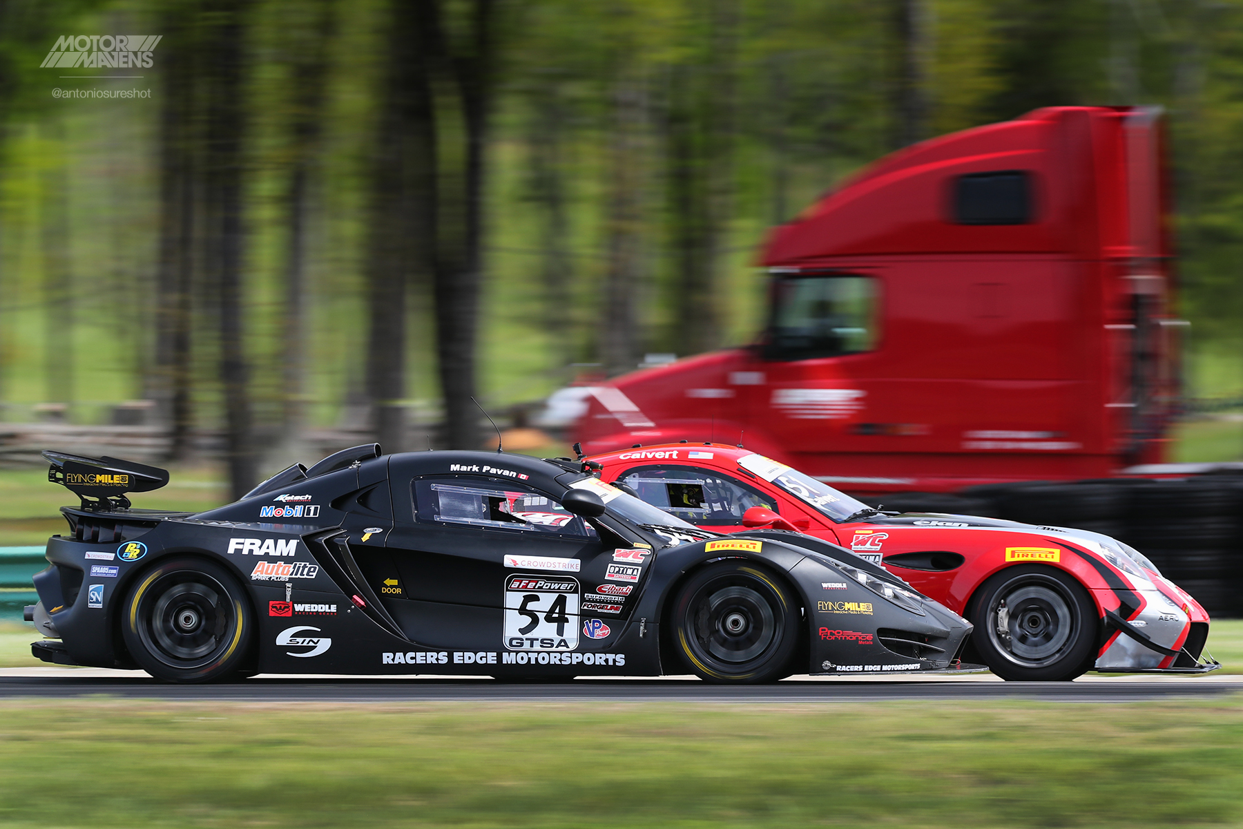 Sin R1, Panoz, Pirelli World Challenge, Virginia International Raceway, VIR, PWC