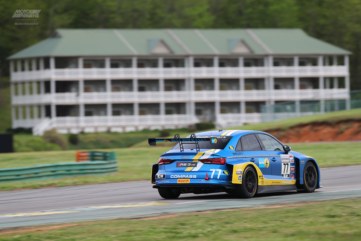 Bilstein, Audi, RS3 LMS, Pirelli World Challenge, Virginia International Raceway, VIR, PWC