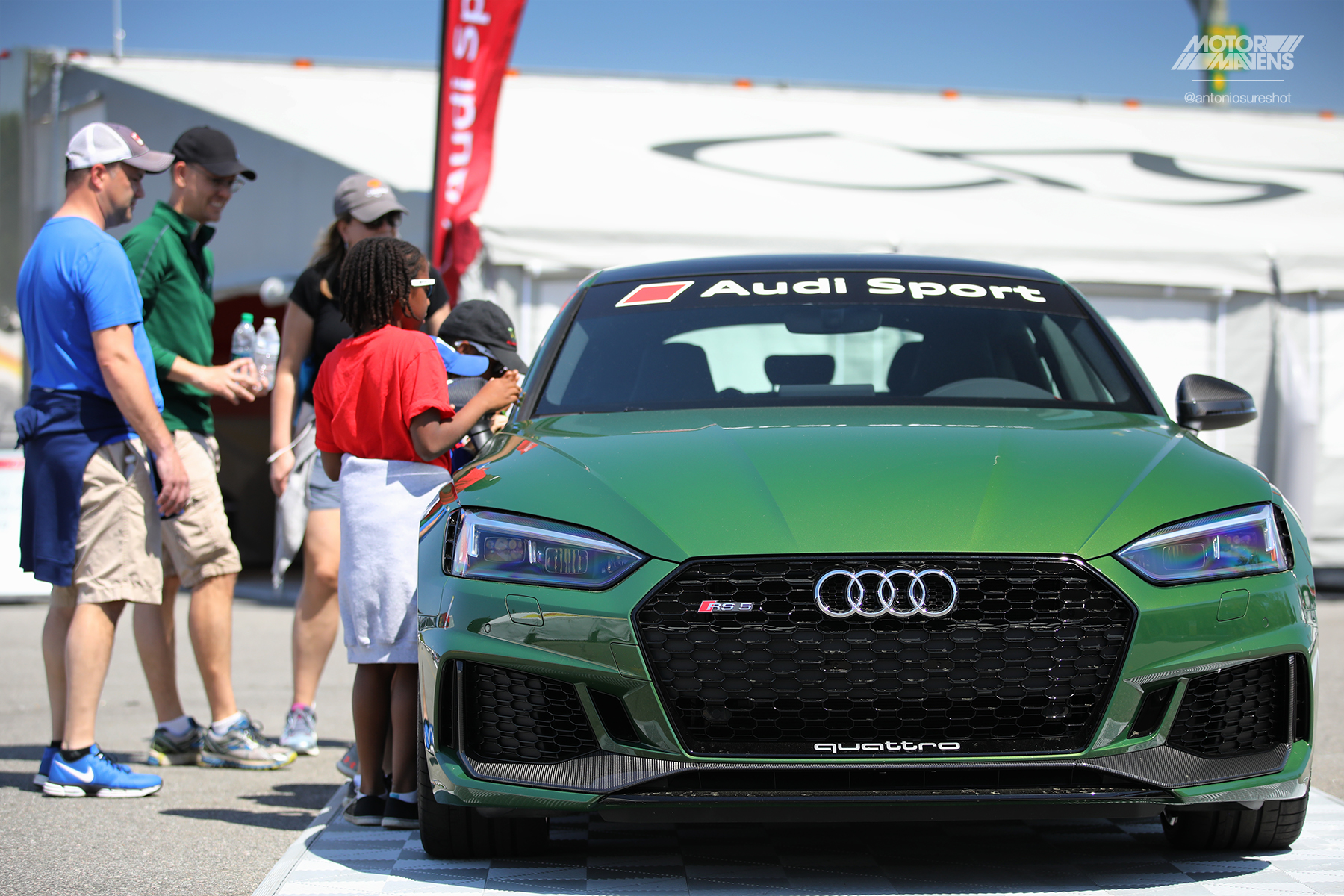 Sonoma Green, Audi RS5, Pirelli World Challenge Virginia International Raceway, VIR, PWC, TCR