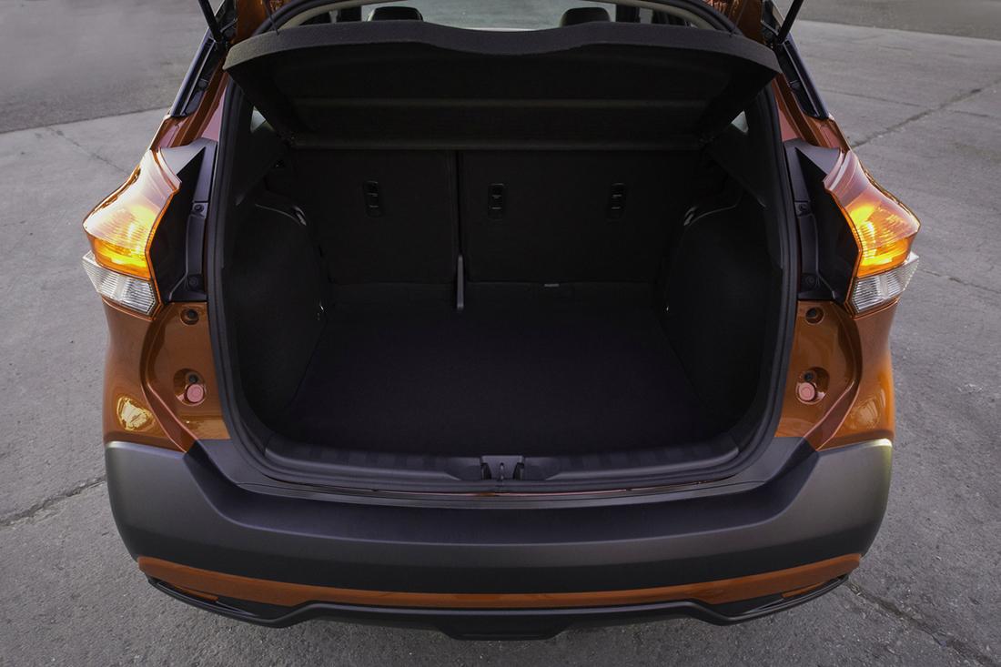 Nissan Kicks, 2018 Nissan Kicks, Nissan Kicks trunk space, Nissan Kicks cargo capacity