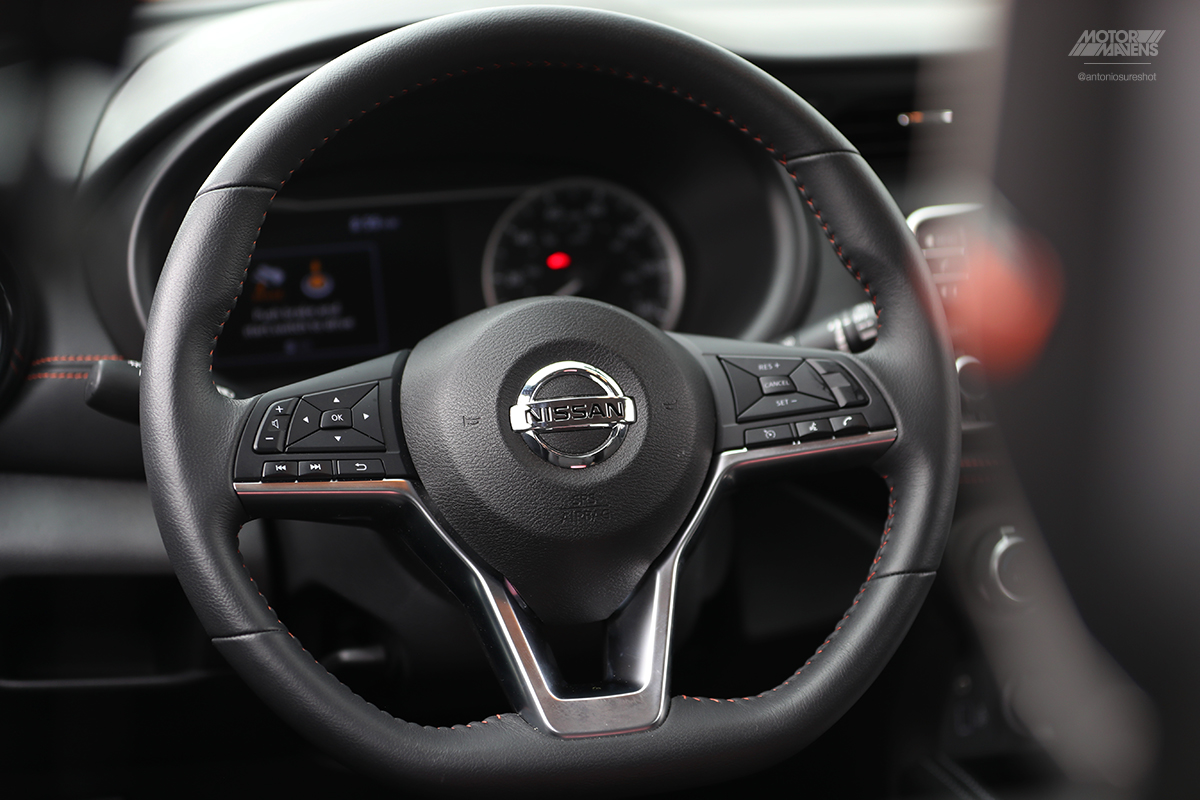 Nissan Kicks,Nissan Kicks steering wheel