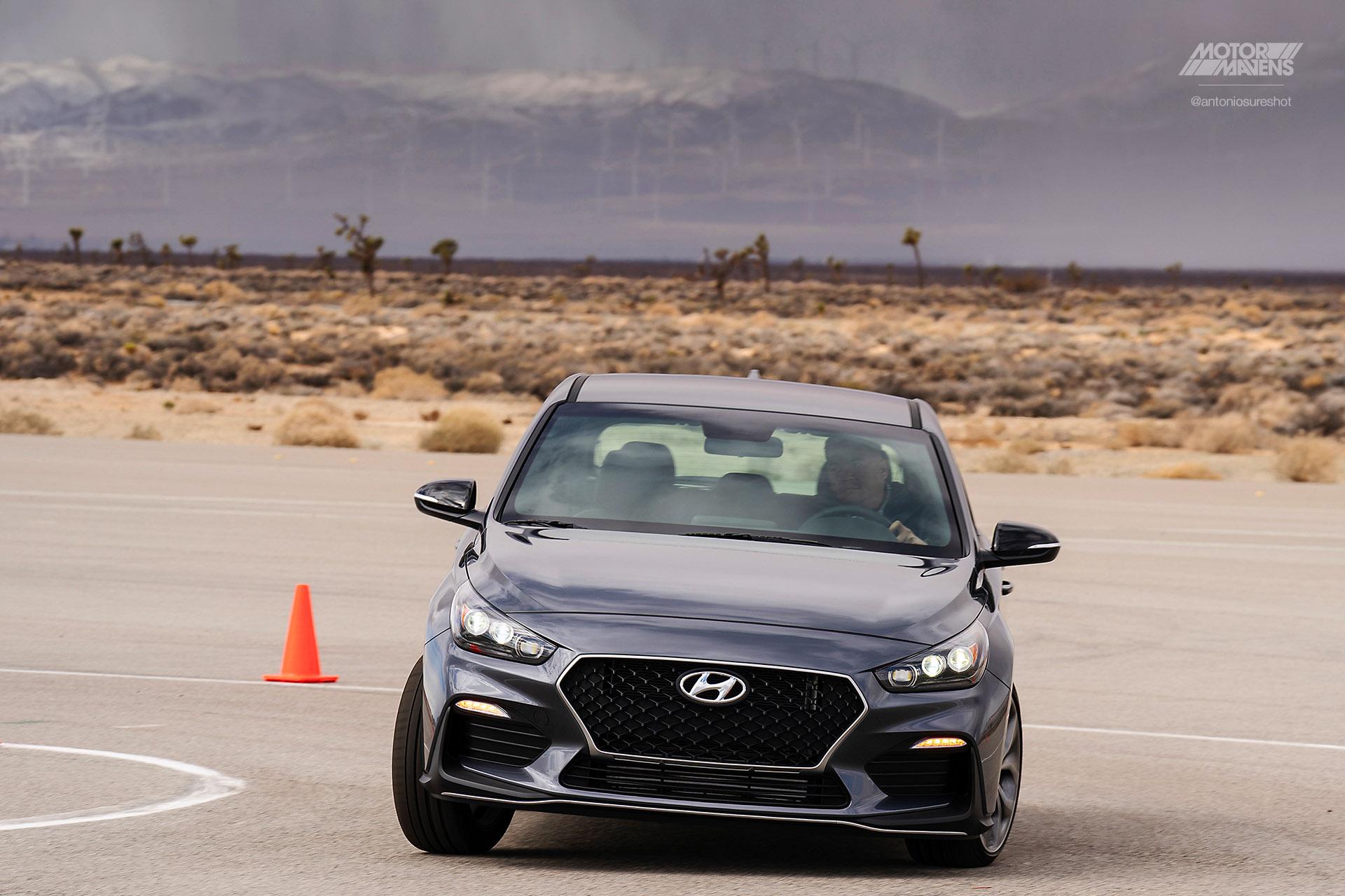 autocross, autox, Hyundai Test Track, Elantra GT