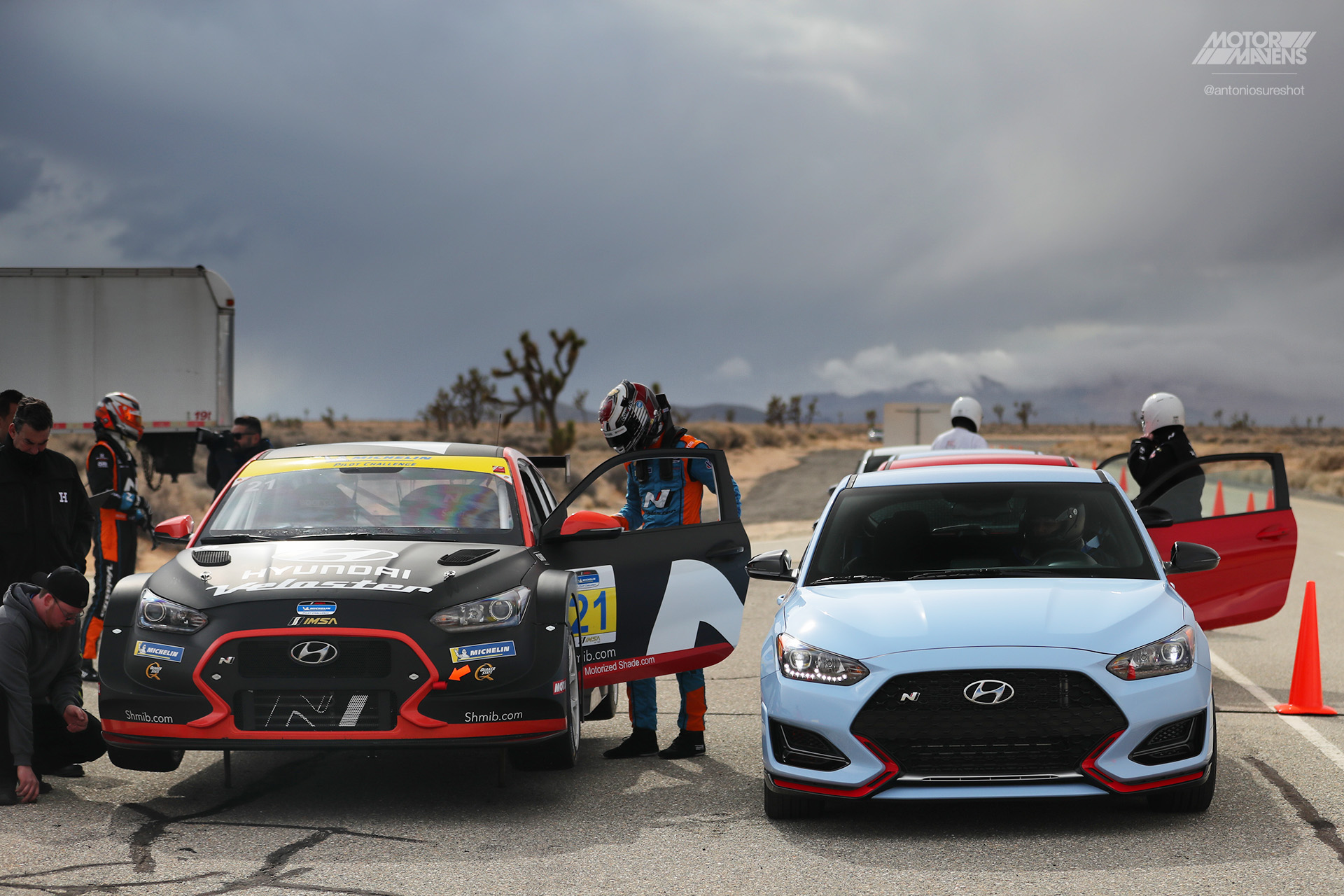 Driving Elantra GT N & Veloster N on Hyundai's Private Test Track