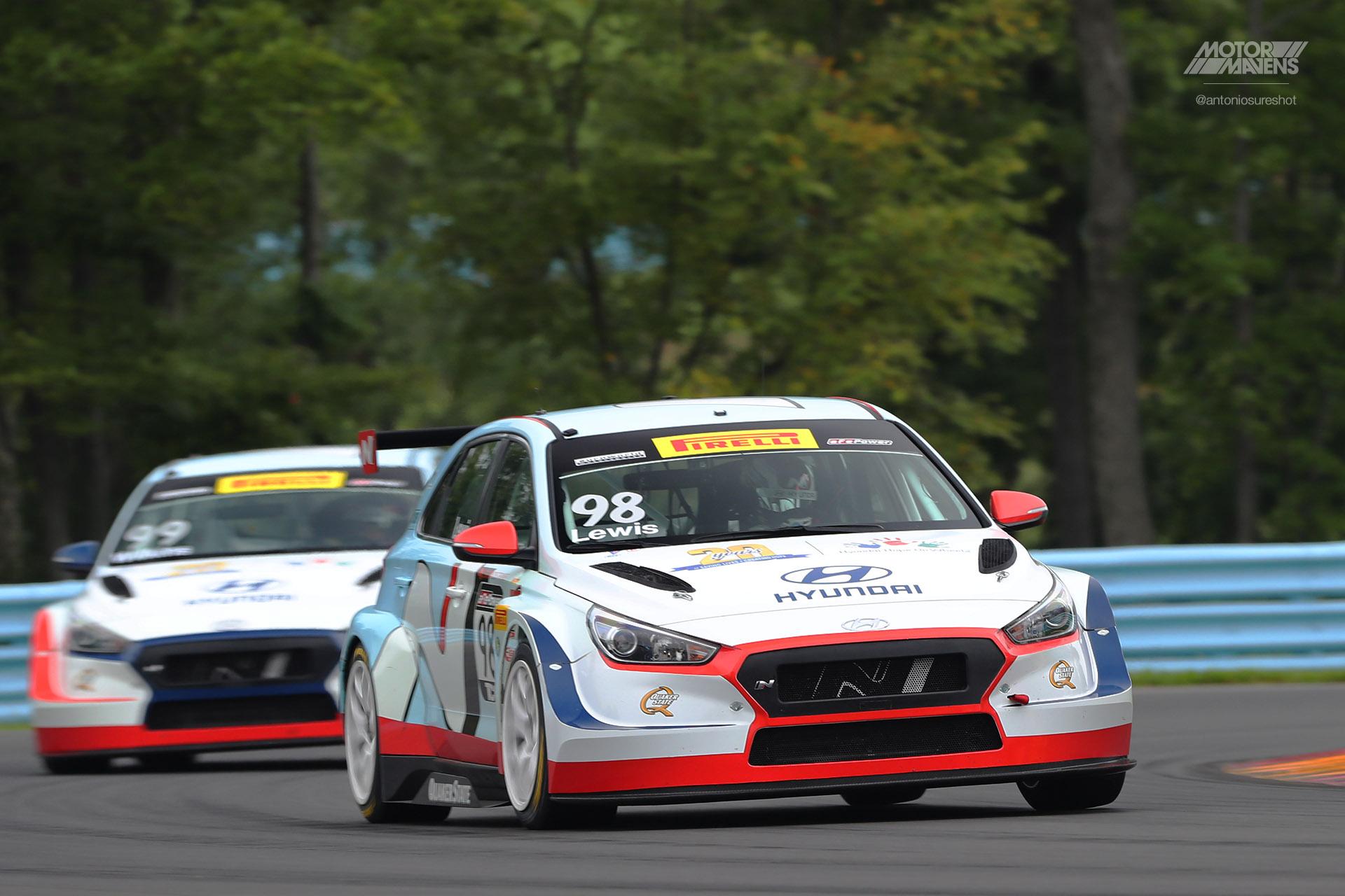 Hyundai, i30N, Elantra GT, TCR, pirelli world challenge, marc lewis