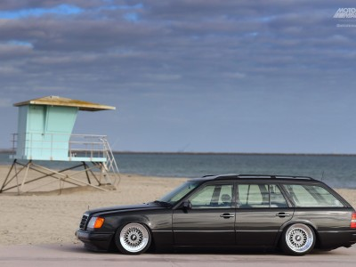 S124, Mercedes Benz, E320, BBS wheels