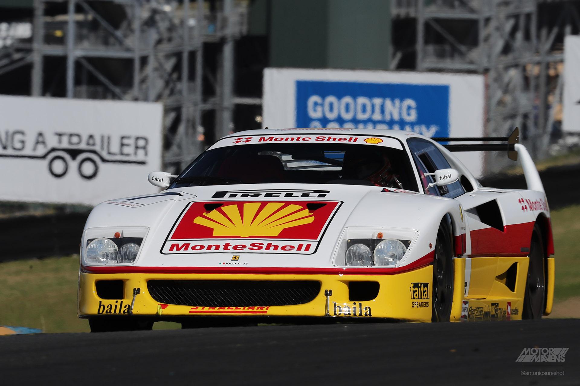 Ferrari F40 LM, F40, Ferrari, Sonoma Speed Festival
