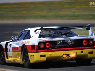 Antonio Alvendia, Ferrari, F40 LM, Sonoma Speed Festival, Ferrari F40