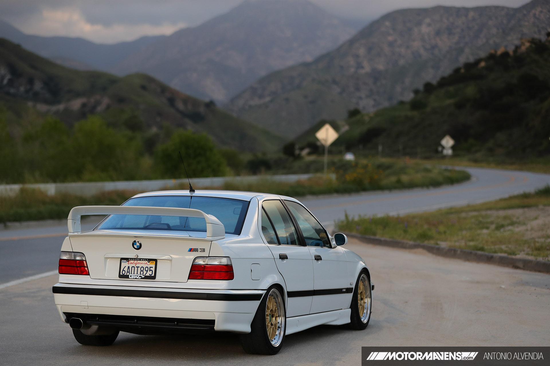 E36 BMW M3 4door S54 swap 5 speed Getrag BBS M345 Garage Welt 1DX21273
