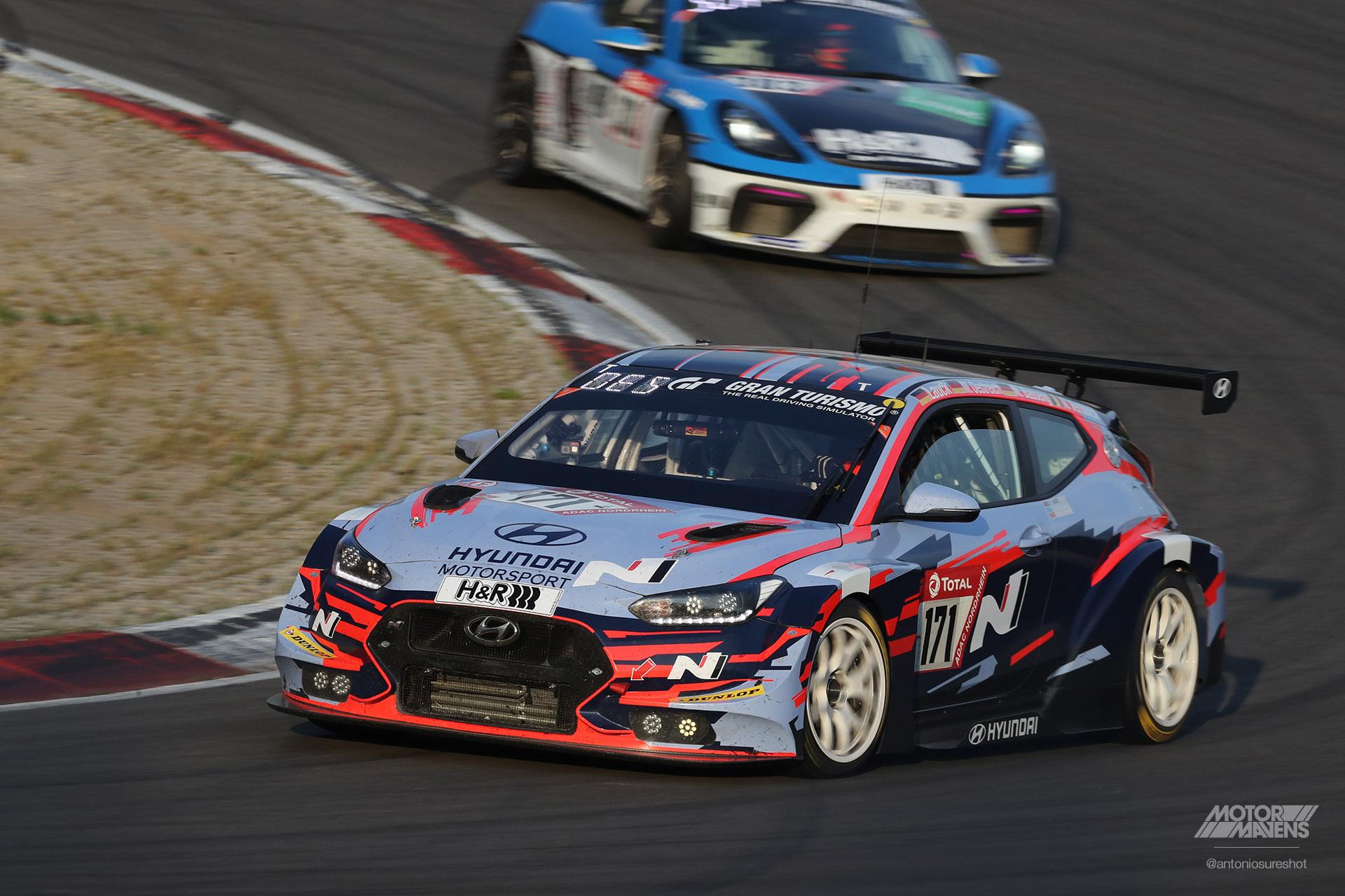 Nurburgring 24 Hyundai Veloster N TCR