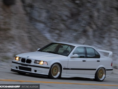 E36 BMW M3 4door 5 speed Getrag BBS M345 Garage Welt