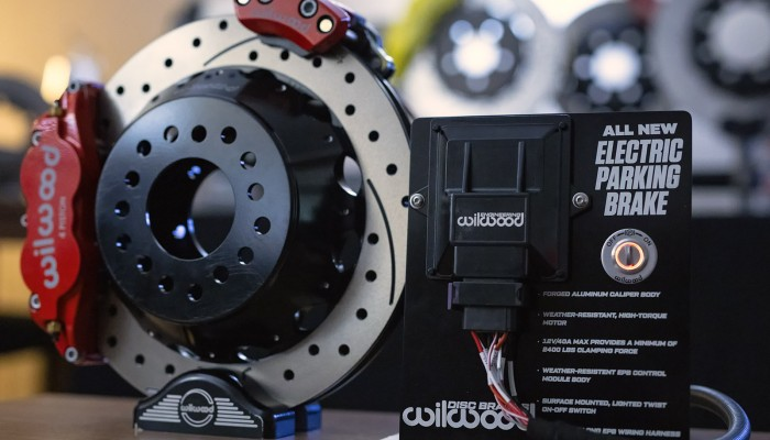 Wilwood Electric Parking Brake Caliper SEMA MPMC