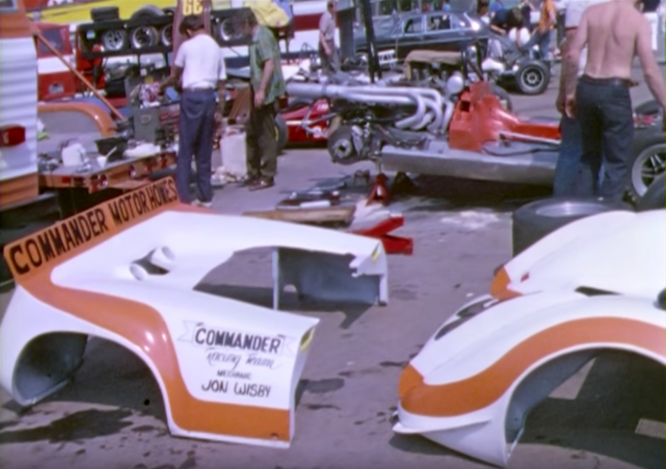 Can Am Commander Motor Homes Championship Race Road Atlanta 1972 Gordon Jolley