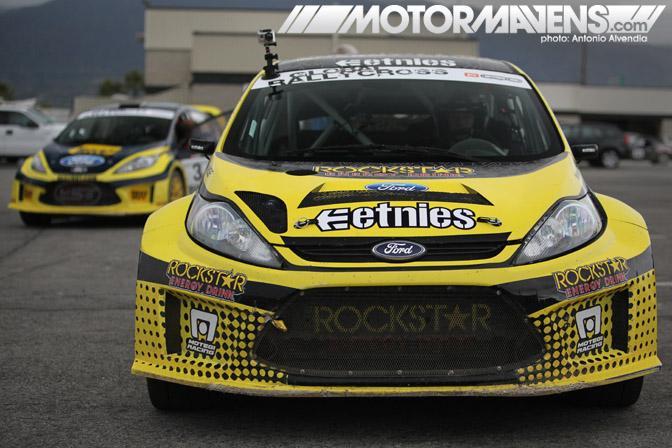 tanner Foust, Ford, Fiesta, Global Rallycross, GRC