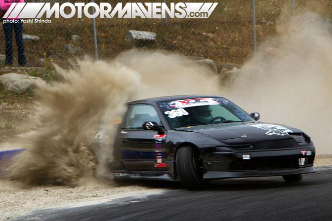 S13, RPS13, 240sx, dirt drop, drifting