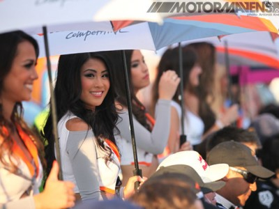 Formula Drift, Hankook Tires, Hankook Girls, Umbrella girls
