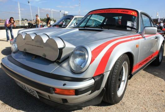 Porsche, Porsche 911, rally, lightpod