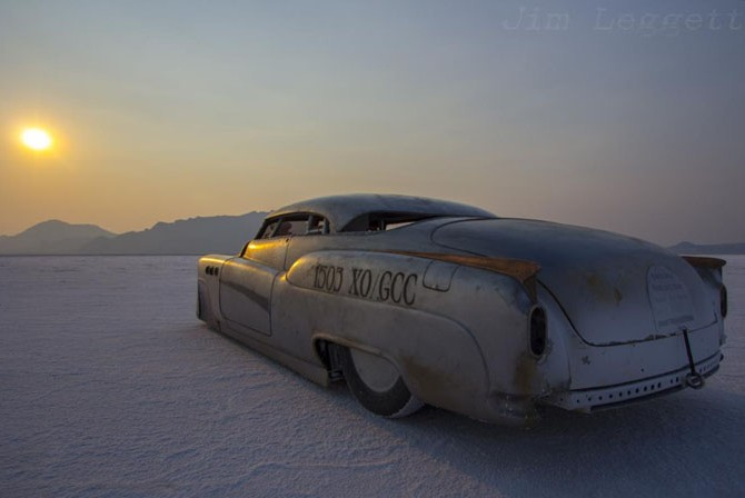 Bombshell Betty, Buick, land speed racing, salt flats