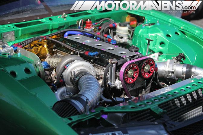 2JZGTE, Forrest Wang, 2JZ, turbo, boost bash, formula drift, FDLB, tech day