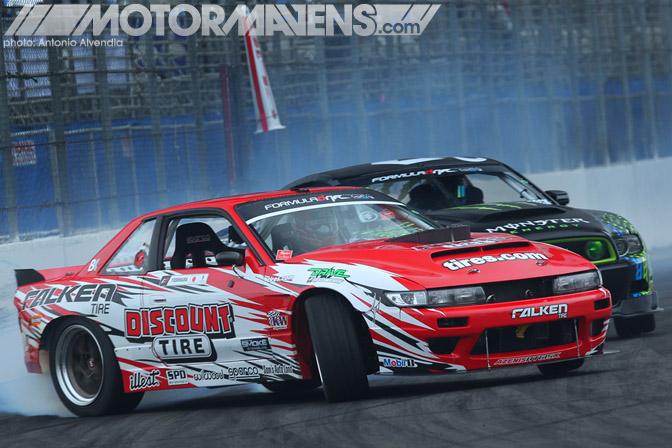 Dai Yoshihara, Daijiro Yoshihara, Falken Tire, Discount Tire, S13, Silvia, Rocket Bunny, V8, Formula Drift, Formula D, FDLB,