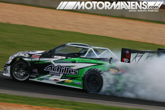 Daigo Saito, Achilles Tire, AEM electronics, Brian Crower, 2JZGTE, Formula Drift, Formula D, drifting