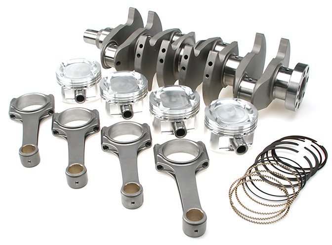 4AG 4AGE Brian Crower stroker kit JE Pistons