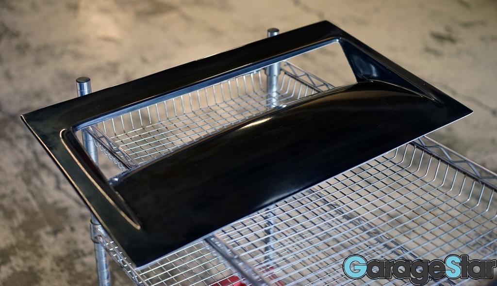 Garage Star, Drop Vent, Heat Extractor, hood scoop