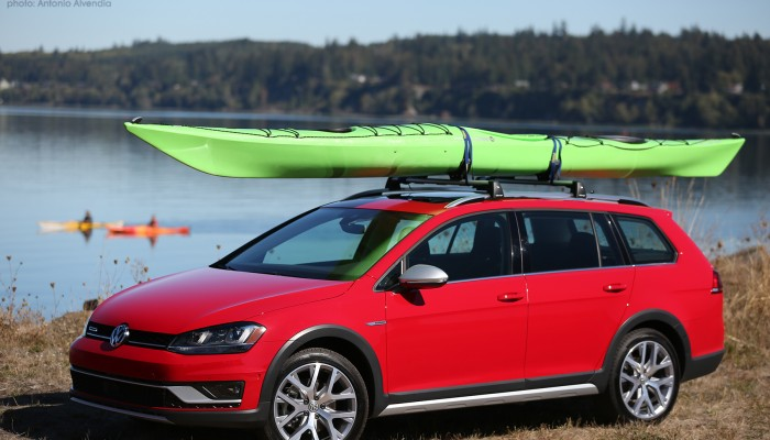 VW Golf. Golf Alltrack, Volkswagen, Sportwagen, VW, Port Gamble, kayaking, Olympic Outdoor Center, Port Gamble kayak