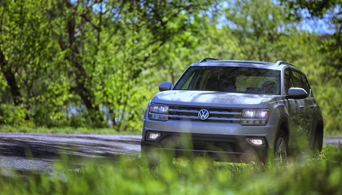 VW Atlas 7 seat 3 row SUV 4Motion AWD Turbocharged