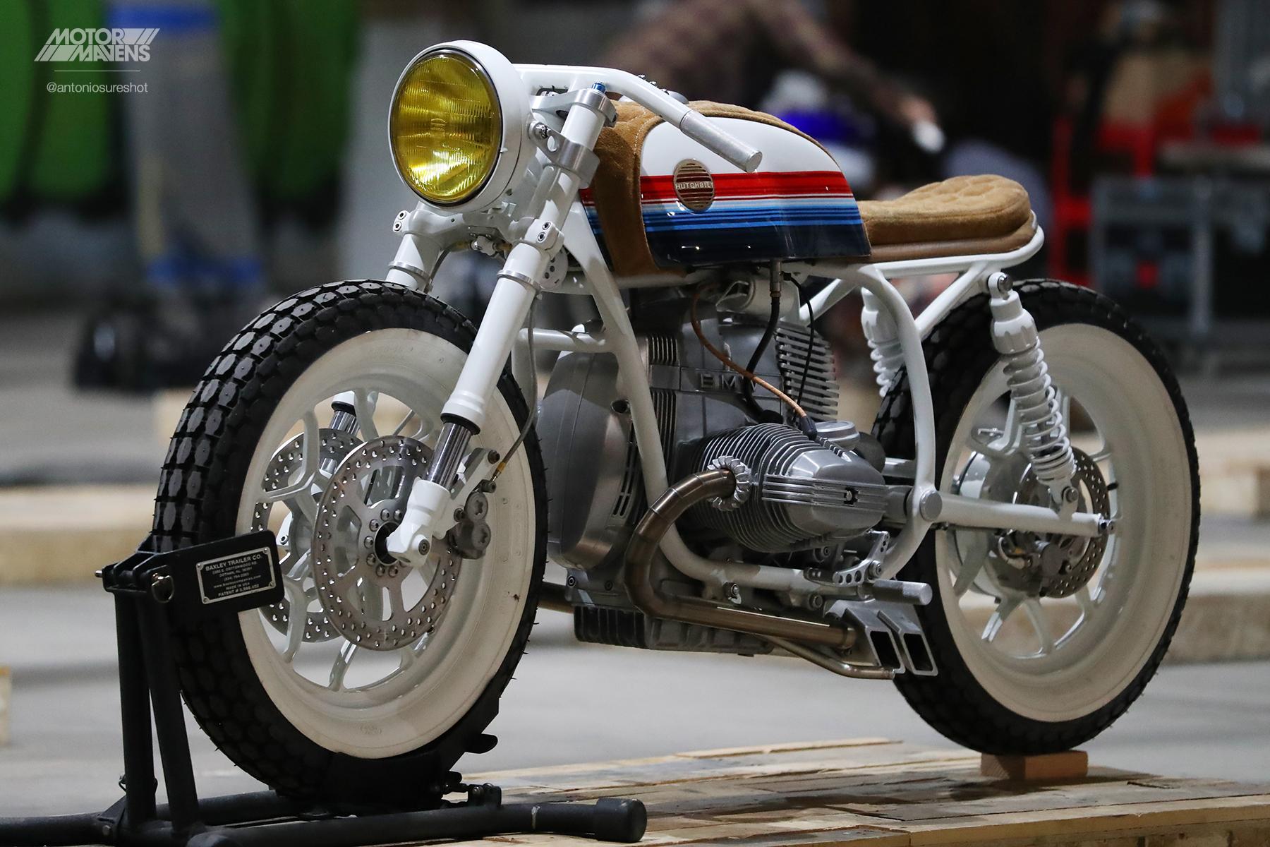 Hutchbilt, BMW R80, Skyway, Boardracer, Cafe Racer, Motorcycle, Jeremy Hutch, OG Moto Show, OGmotoshow , R80, caferacer, outliers guild