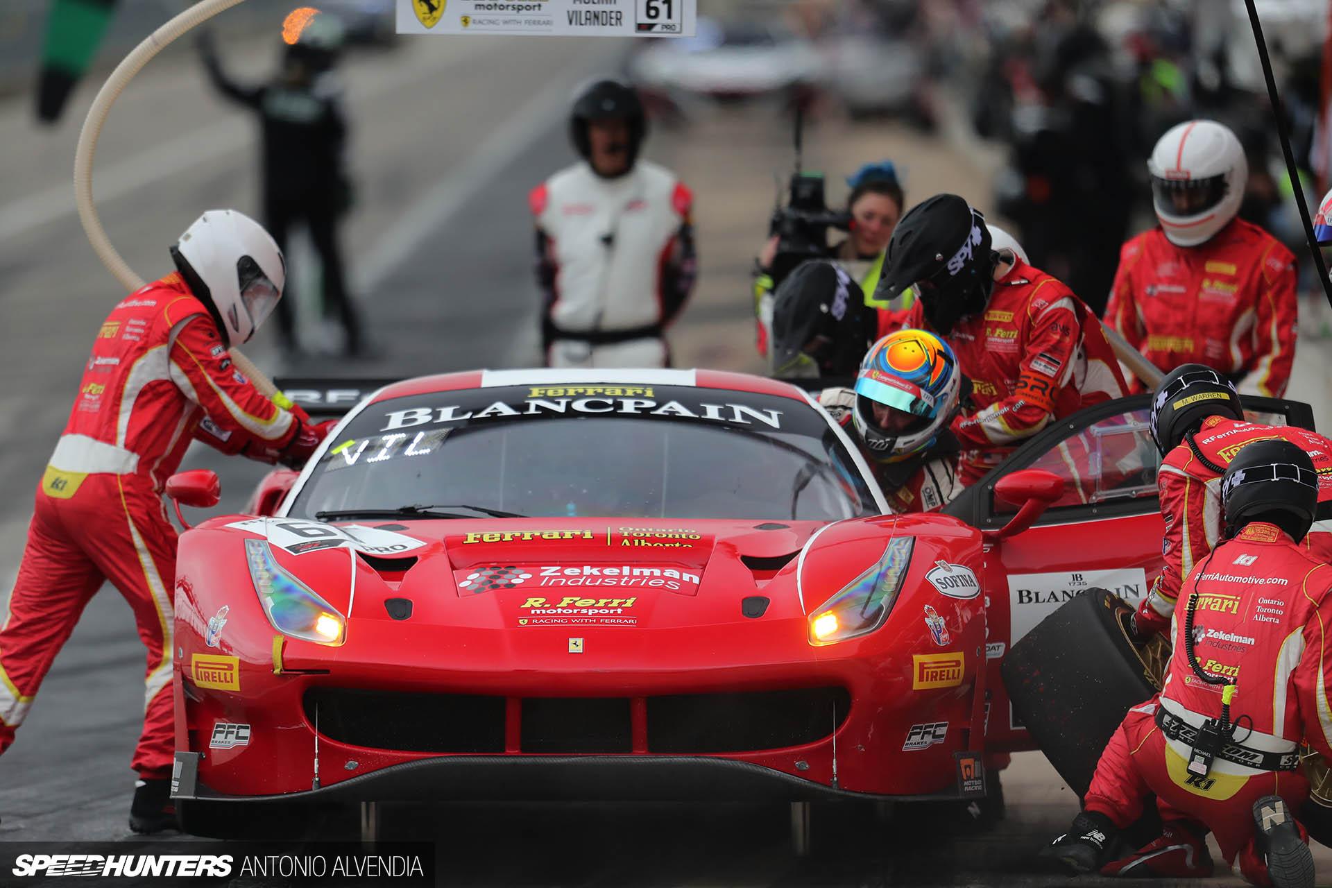 Ferrari 488, Ferrari, Ferrari 488 GT3, pit stop, Blancpain GT Challenge, SRO America