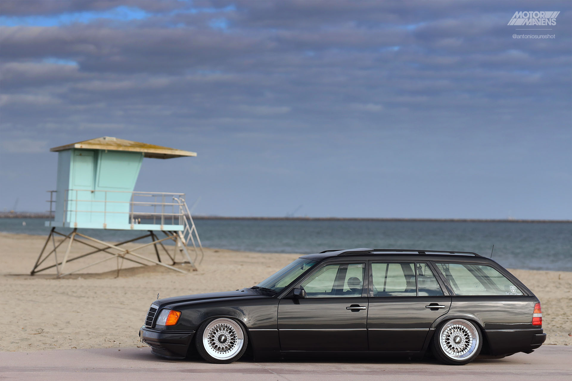S124, Mercedes Benz, E320, BBS wheels