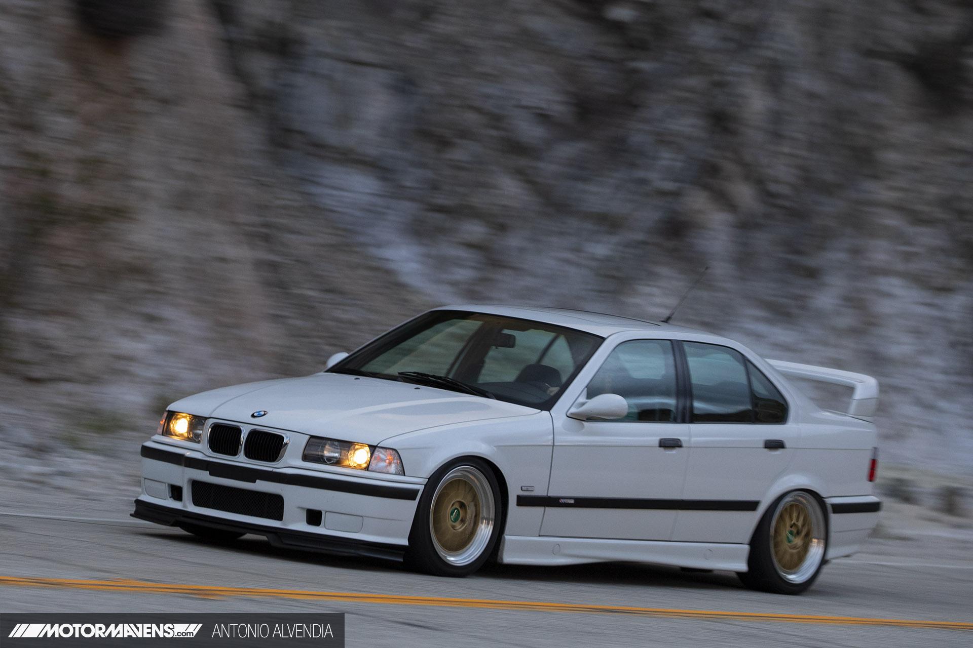 E36 BMW M3 4door 5 speed Getrag BBS M345 Garage Welt