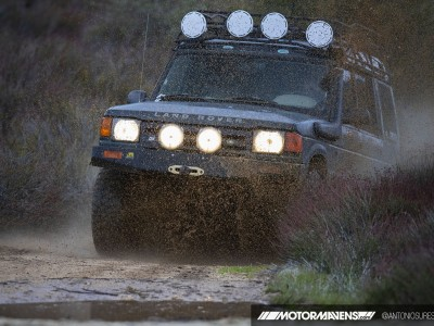 Land Rover, Land Rover Discovery, TJM bumper, Hella fog lights, hellwig, offroad, overland